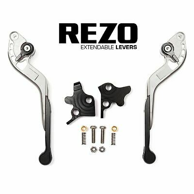 Extendable Silver Lever Set R-104 Y-688 Cams Yamaha YZF-R6 05-16