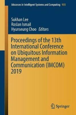Proceedings of the 13th International Conference on Ubiquitous ... 9783030190620