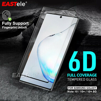 For Samsung Galaxy Note 10 Note 10+ Plus 5G Tempered Glass Screen Protector Full