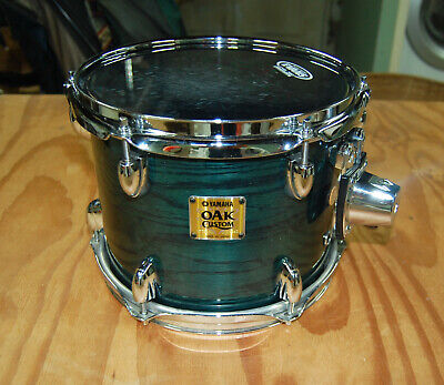 Yamaha Oak Custom 10 x 8 Azure Blue Rack Tom