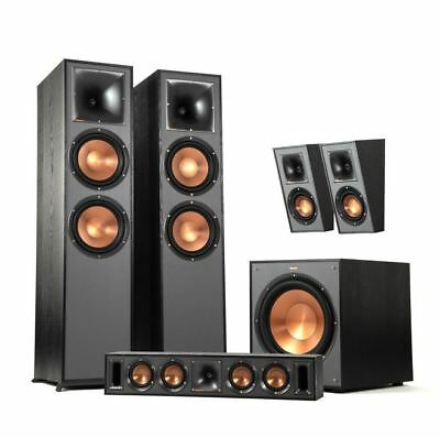 "Klipsch R-820F Home Cinema System Reference Speaker Set 5.1 12"" Subwoofer Sound"