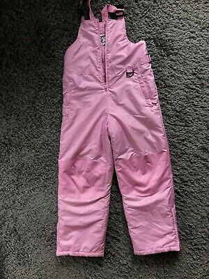 Vintage Ixtreme GIRLS ski pants snow trousers pink size 10/12 years
