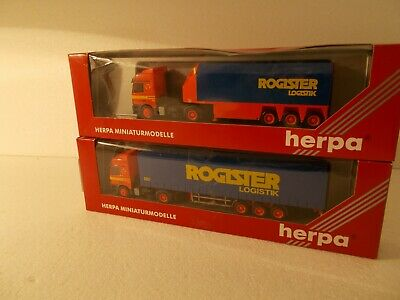 CAMIONS  BELGES  - Herpa- ROGISTER LOGISTIK