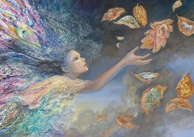 Puzzle 1000 pièces Josephine Wall - Catching Wishes (59364)