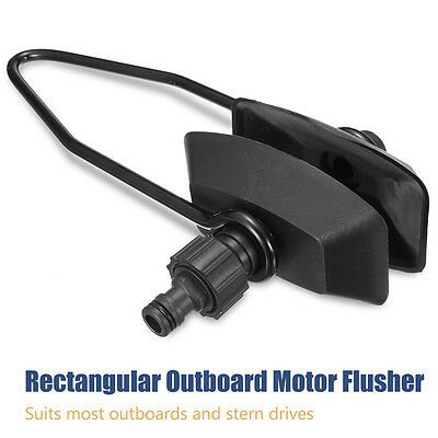 Universal Outboard /& Sterndrive Marpac Rectangular Boat Motor Flusher 7-0574