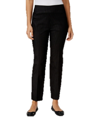 Alfred Dunner Petite Theater District Pinstripe Pants, Size 10P, $48.00