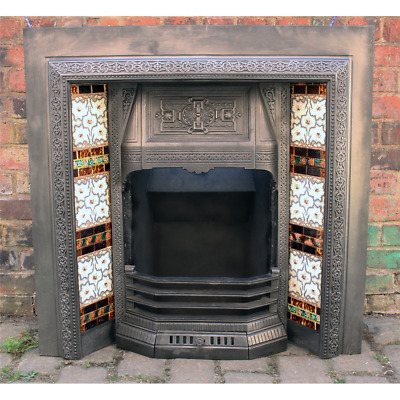 Reclaimed Victorian Cast Iron Fireplace insert price not including tiles