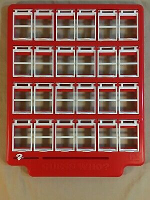 Guess Who ? Vintage Retro Series 1996 Edition Game Red Game Board Only