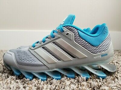newest 33122 083ca ADIDAS SPRINGBLADE DRIVE Running Shoes Blue/Grey C75670 Women's Size 6.5