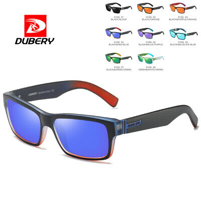 DUBERY Mens Womens Vintage Polarized Sunglasses Driving Eyewear Shades Outdoor