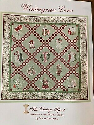 Wintergreen Lane--The Vintage Spool--Quilt Kit