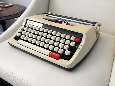 Vintage Brother 850TR Deluxe Portable Typewriter with Case 60s 70s