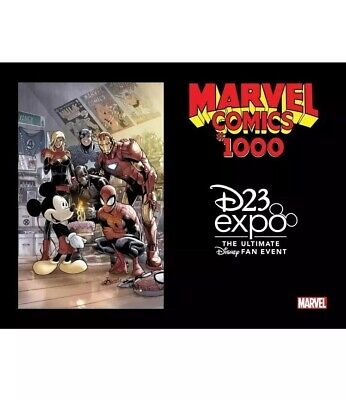 Marvel Comics #1000 Disney Ramos Variant Cover LE 2019 D23 Expo Exclusive NEW