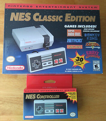 NES Classic Edition Nintendo Entertainment System NES Mini Console & Controller