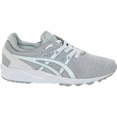 ASICS GEL KAYANO EVO White Textile Lace Up Running Mens