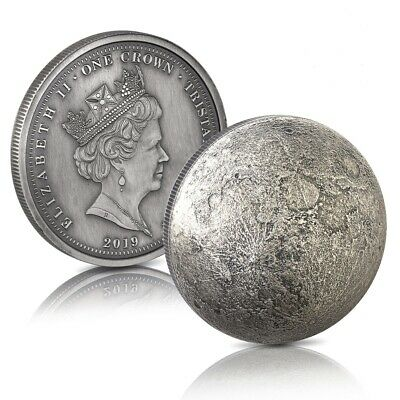 50th Anniversary Moon Landing Dome Shaped Coin