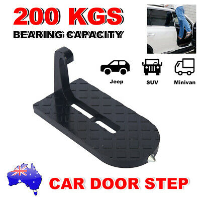 Car Door Step Latch Hook Foot Pedal Ladder for Jeep SUV Truck Portable Doorstep