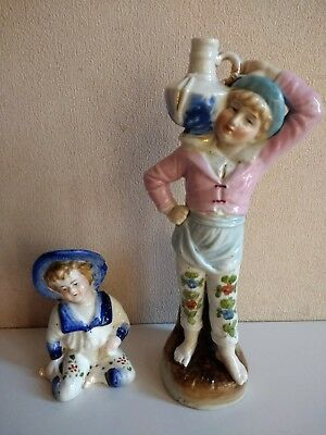 antique 19th century German figurine rare