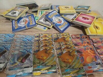 Lot 25 Cartes Pokemon Francaises Avec Gx Ou Ex