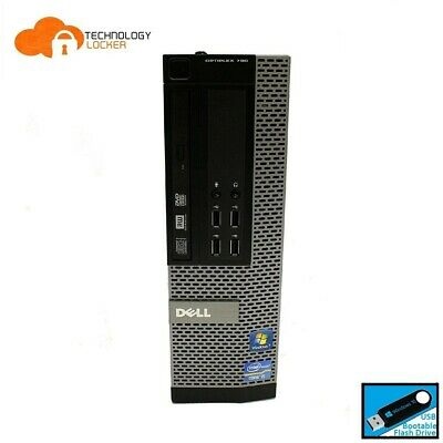 DELL Optiplex 790 SFF Desktop PC Intel i7-2600 @3.40GHz 8GB RAM 500GB Win 10