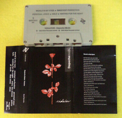 Mc Depeche Mode Violator 1990 Mute Records C Stumm 64 No CD LP DVD VHS