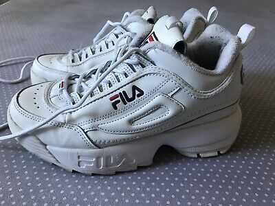 FILA DISRUPTOR LOW Scarpe Donna Ragazzo Sports Sneakers Running EU 37 / UK  3.5