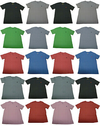 Genuine Ralph Lauren Polo Baby Boys V Neck Short Sleeve Pony T Shirt Tee Top New
