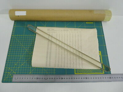 ZEISS 400/1mm Glass Up Optical Calibration Ruler Reticle Scale Microscope Cert