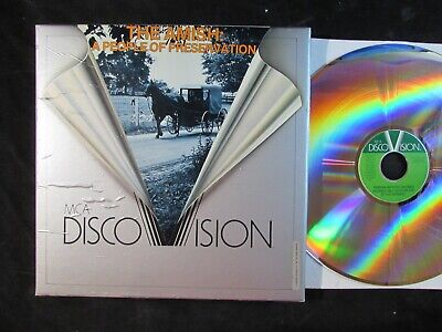 MCA DISCO VISION LASERDISC The Amish: A people of preservation /documentary film