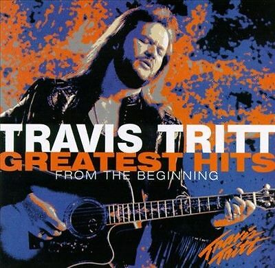 Greatest Hits: From the Beginning by Travis Tritt (CD) - **DISC ONLY**