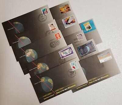 1999-2000 New Millennium Eyewitness to History $1 Coin Commemorative Cover