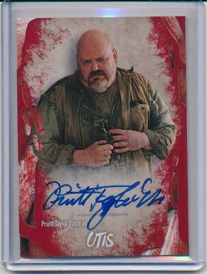 2016 Topps The Walking Dead Survival Box Pruitt Taylor Vince Auto Otis