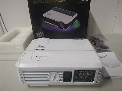 Caiwei Android HD Smart Home Cinema LED Projector with WiFi