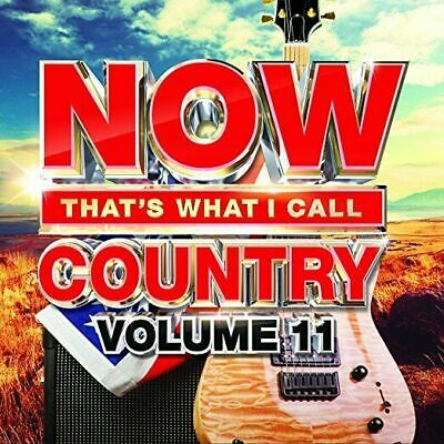 Now That's What I Call Country Vol. 11 (CD) 18 Biggest Hits Sealed 2018
