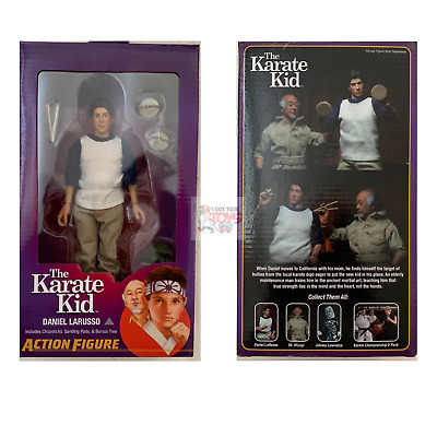 "DANIEL LARUSSO Neca THE KARATE KID 8"" Inch Mego CLOTHED FIGURE"