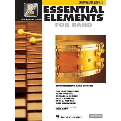 Essential Elements for Band - Percussion Book 1 - EE Interactive - Hal Leonar...