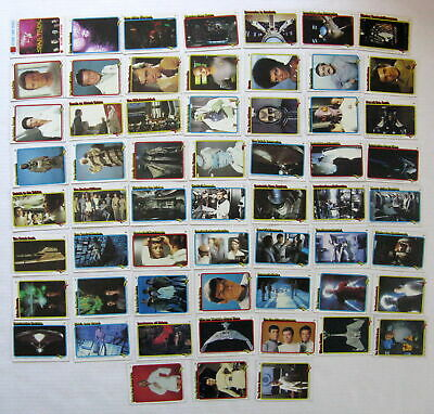 Vintage Star Trek 1979 Topps Trading Cards Lot Of 59 Partial Set Paramount