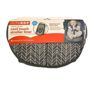Skip Hop Stroll-and-Go Cool Touch Stroller Organizers Liner grey feather