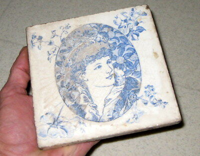 Josiah Wedgwood & Sons Etruria 19Th Century Tile / Architectural Salvage