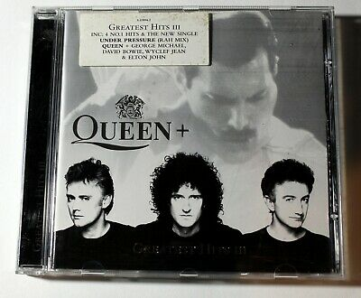 Queen - Greatest hits III, Under Pressure, Good used CD.