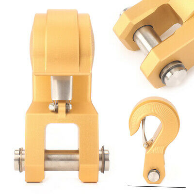 Extractor Recovery Hook for Jeep Off-road Hitch Receiver Universal Gold NEW