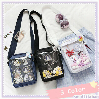 TRANSPARENT CLEAR CUTE Cat Ear Shoulder Bag Itabag Cosplay
