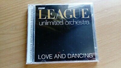 The League Unlimited Orchestra Love And Dancing 8 Track CD (Remastered)