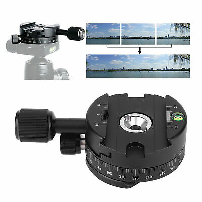 QJ-01 QJ-07 360° Quick Release Clamp Plate For Arca SWISS Clamp Tripod Ball Head
