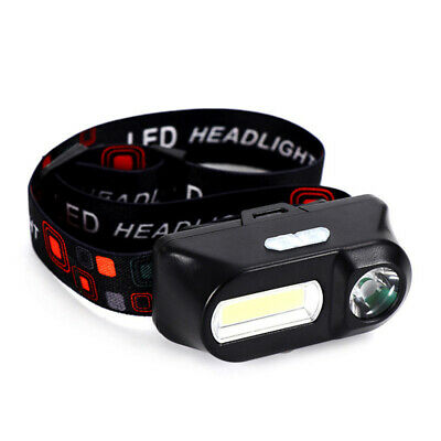 6 Modes USB LED Headlamp Rechargeable Head Light Outdoor Flashlight Torch Lamp