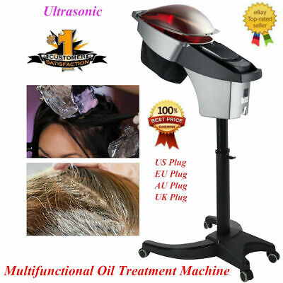 Pro Hair Oil Treatment Machine Hairdressing Hood Color Processor Instrument 700W