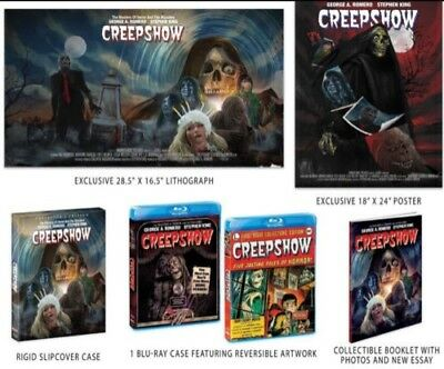 Creepshow Blu Ray (Shout Factory Exclusive)