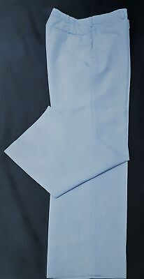 """Flares, light blue, 1970's polyester/cotton size S 32"""""""