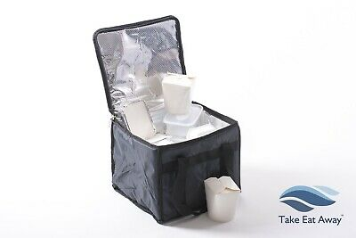 Take Away Delivery Drivers Bag Insulated Home Deliveries Takeaway Riders Bagst16