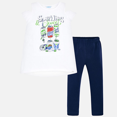 competo .leggings combinato da bambina e ragazza Mayoral